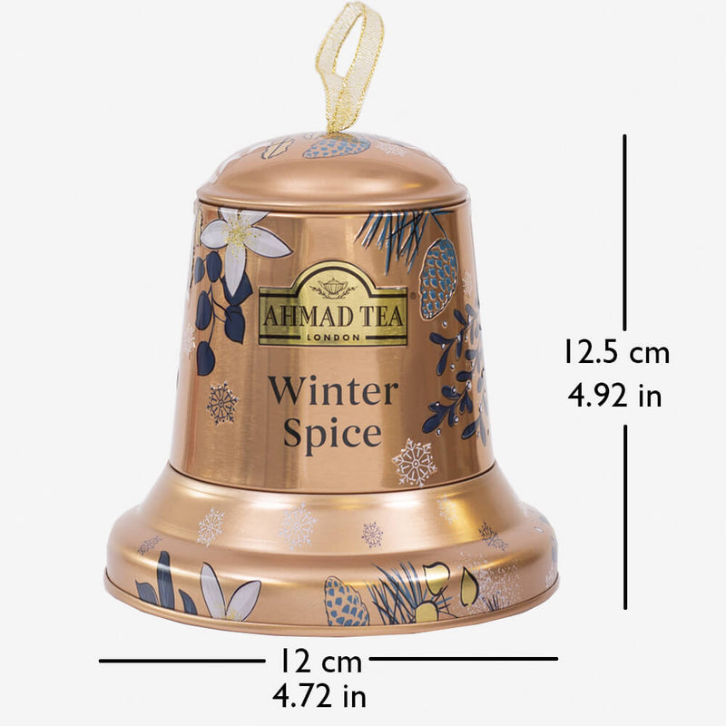 Twilight Xmas Bell Caddy - Caddy with dimensions