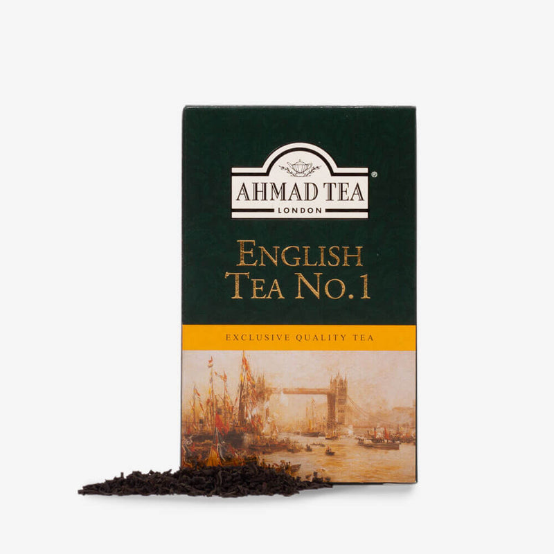 8 Packs of 100g Loose Tea Packet - Box and loose tea