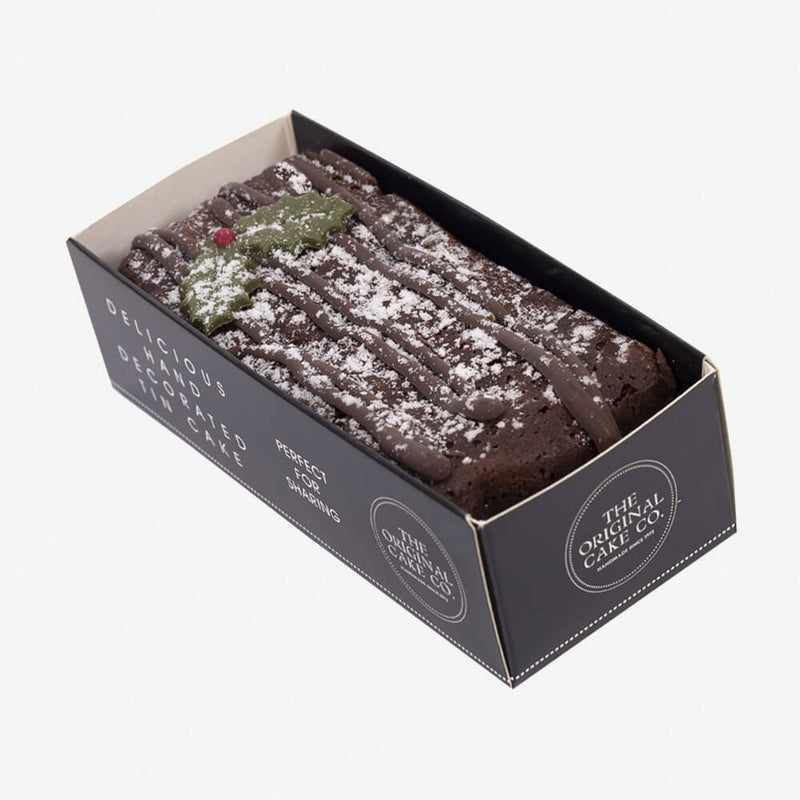 The Original Cake Company Xmas Chocolate Yule Log