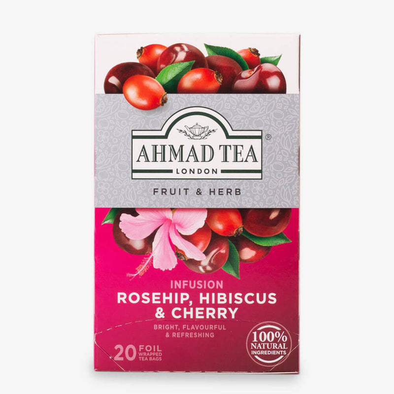 Rosehip, Hibiscus & Cherry Infusion - 20 Teabags