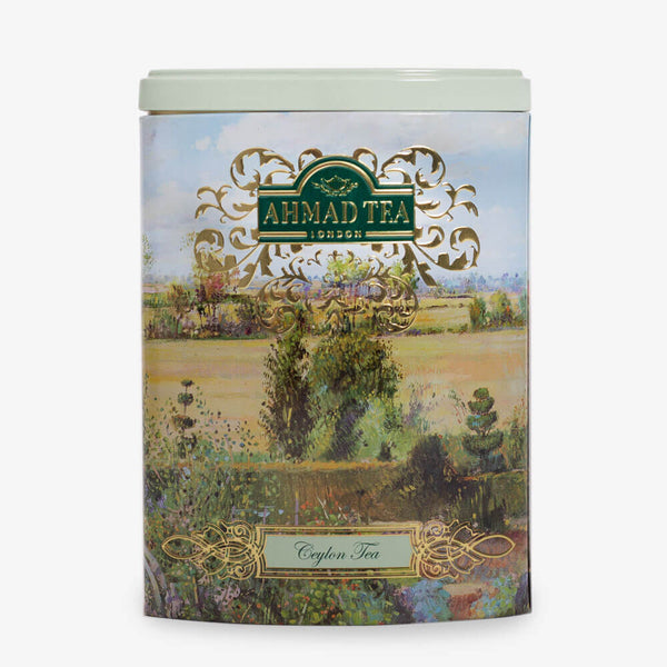 100g Loose Tea Caddy from Fine Tea Collection - Front of caddy