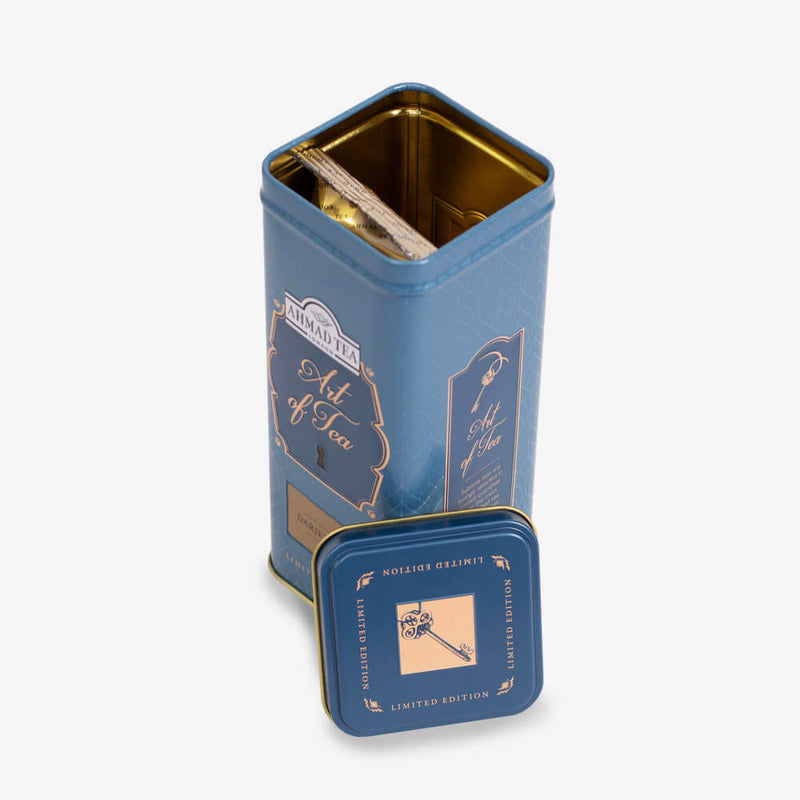 100g Loose Tea Caddy from Art of Tea Collection - Open caddy