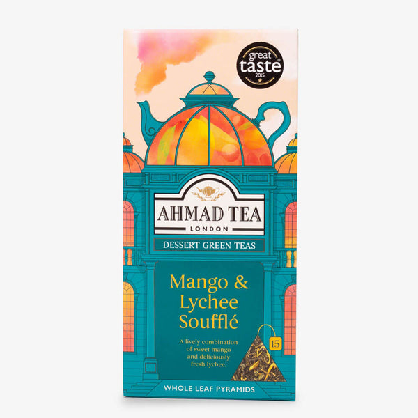 15 Pyramid Teabags - Front of box