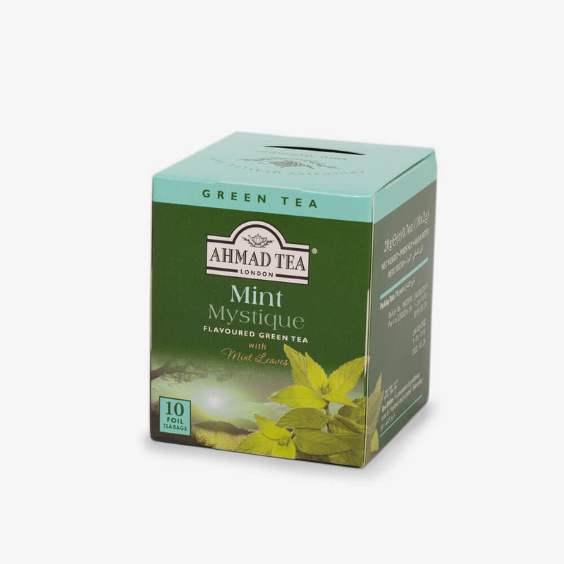 10 Teabags - Side angle of box