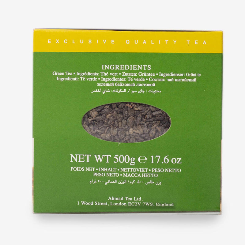 4 Packs of 500g Loose Tea Packet - Side of box