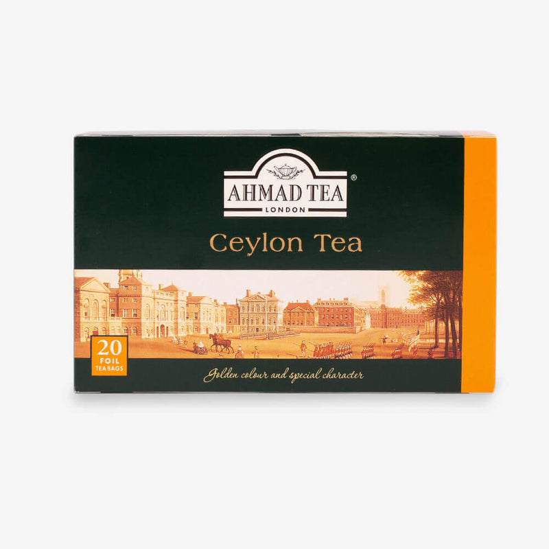 6 Packs of 20 Teabags - Box on side