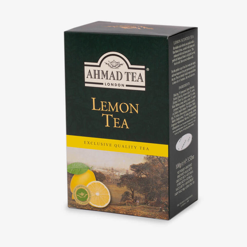 8 Packs of 100g Loose Tea Packet - Side angle of box