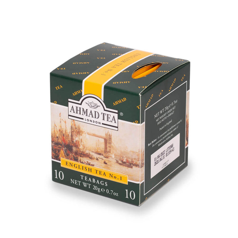 English Tea Selection with 3 Black Teas - 30 Teabags (Available in 2 Colours)