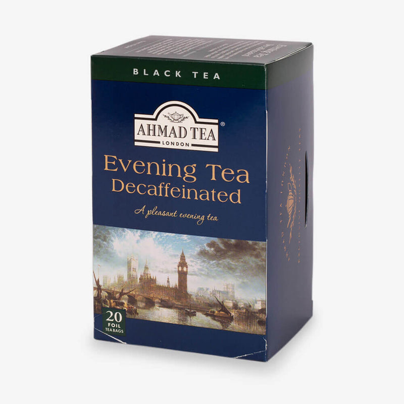 Evening Tea Decaffeinated Tea - 6 Packs of 20 Foil Teabags