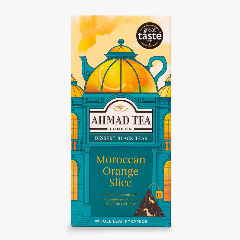 Moroccan Orange Slice - 15 Pyramid Teabags