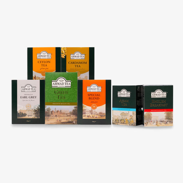 Bumper Black & Green Tea Bundle - 3kg Loose Leaf