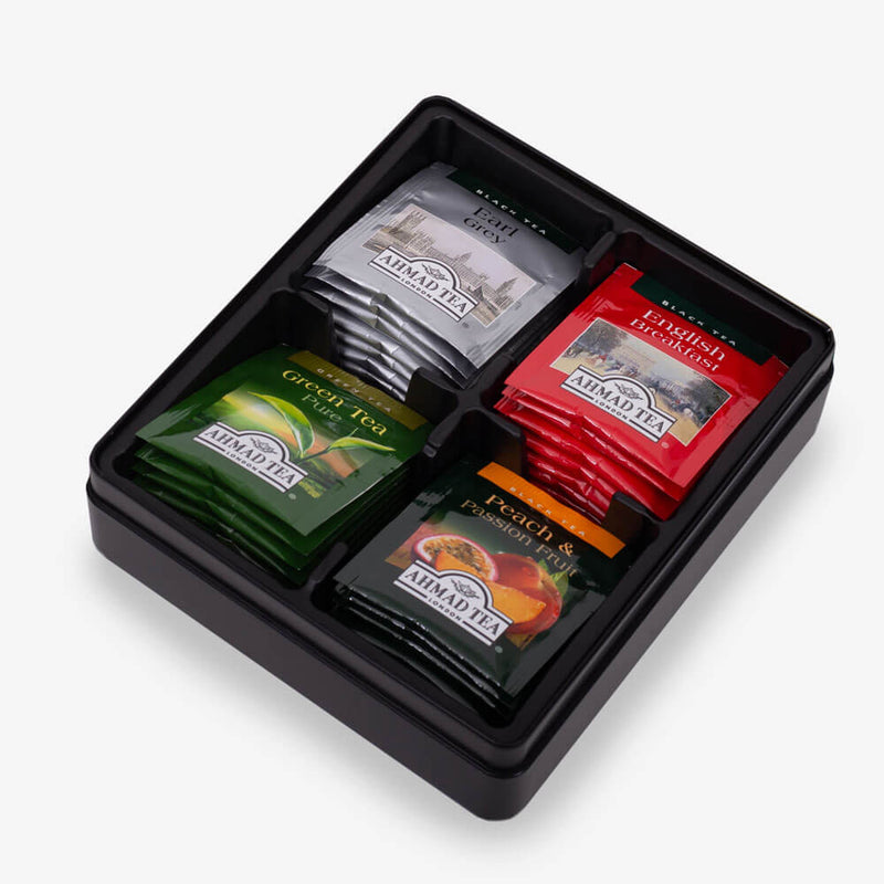 32 Teabags - Open caddy on side