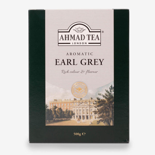Aromatic Earl Grey Black Tea - 500g Loose Tea Packet