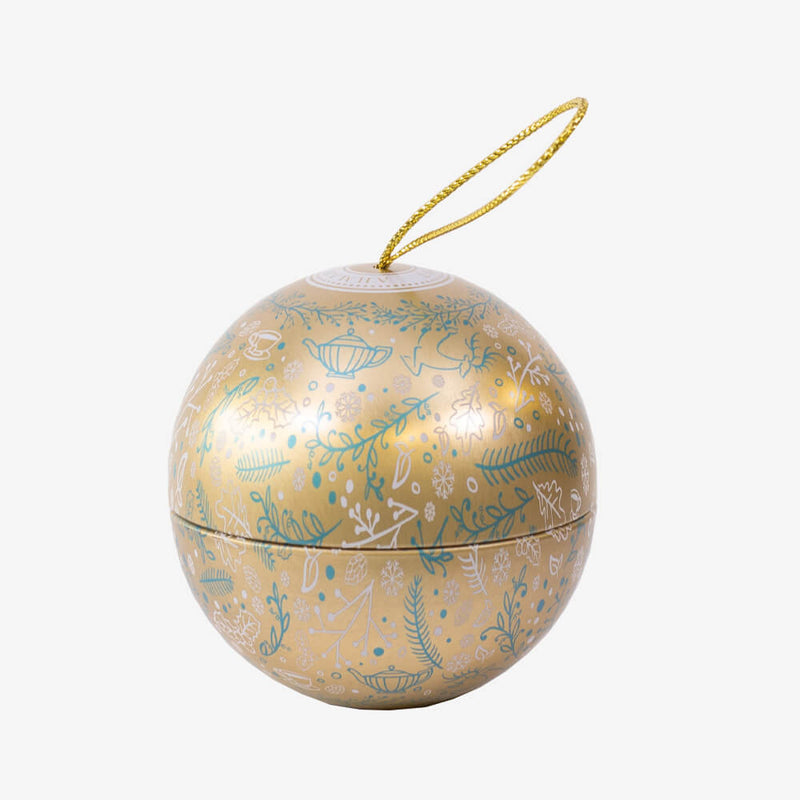 Enchanted Xmas Bauble in Gold - Bauble