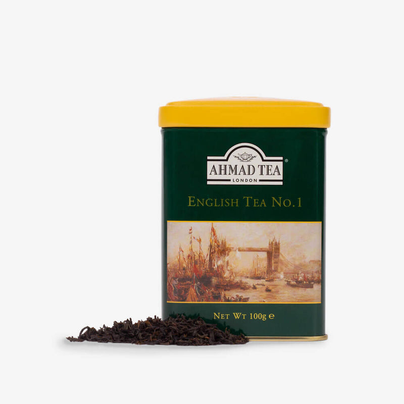 6 Packs of 100g Loose Tea Caddy from English Scene Collection - Caddy and loose tea