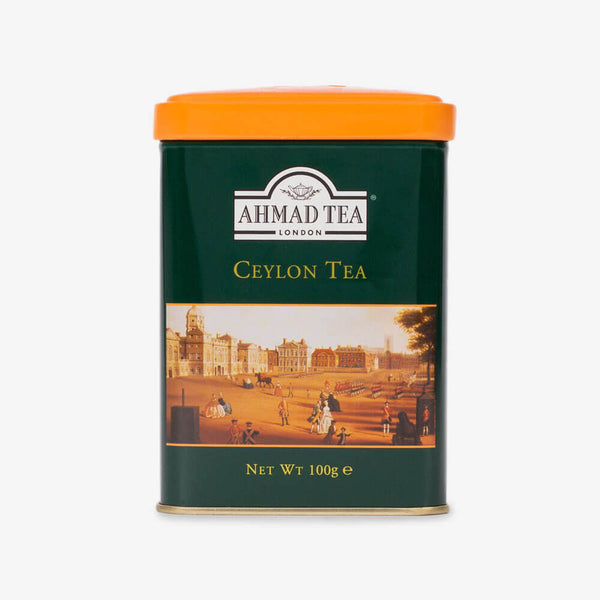 Ceylon Tea - 100g Loose Tea Caddy from English Scene Collection