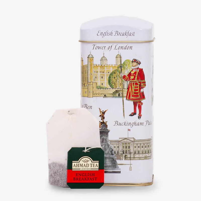 London Icons Money Box Caddy - Caddy and teabag