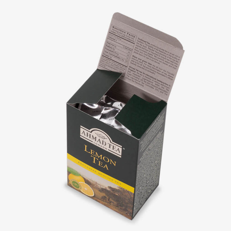 8 Packs of 100g Loose Tea Packet - Open box
