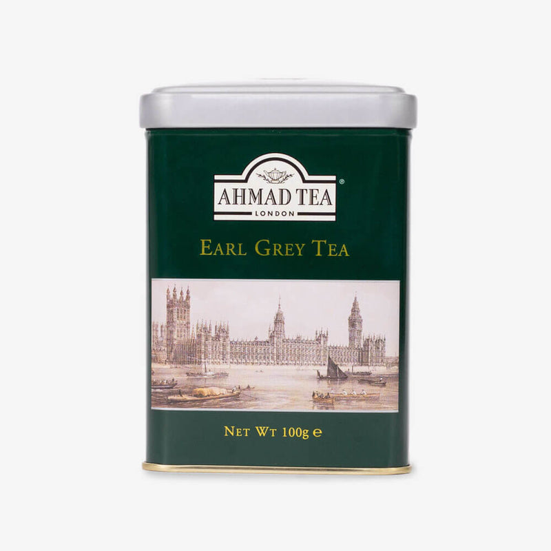 Earl Grey Tea - 100g Loose Tea Caddy from English Scene Collection