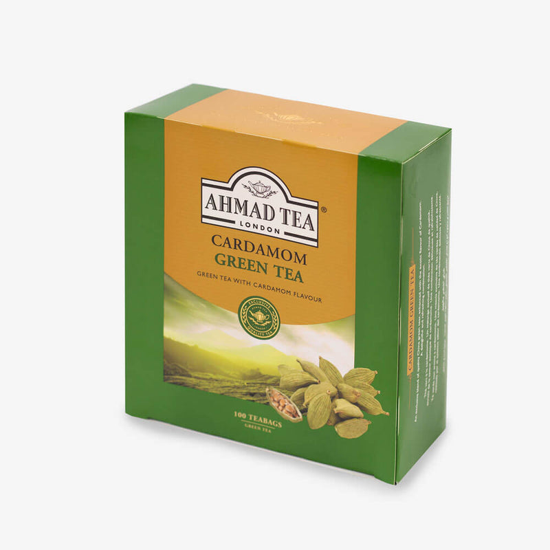 6 Packs of 100 Teabags - Side angle of box