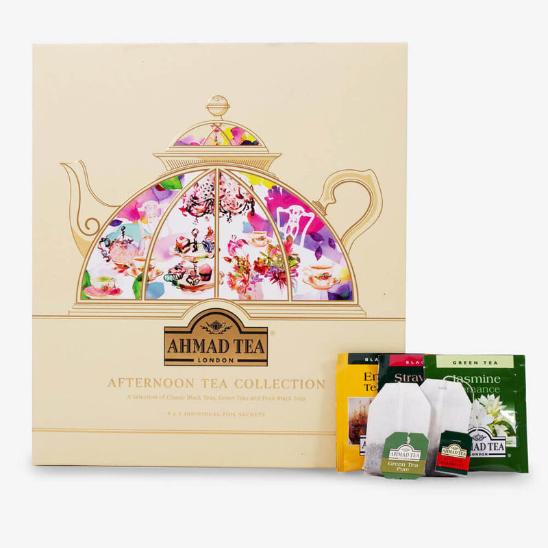 Afternoon Tea Collection - Box, envelopes and teabags