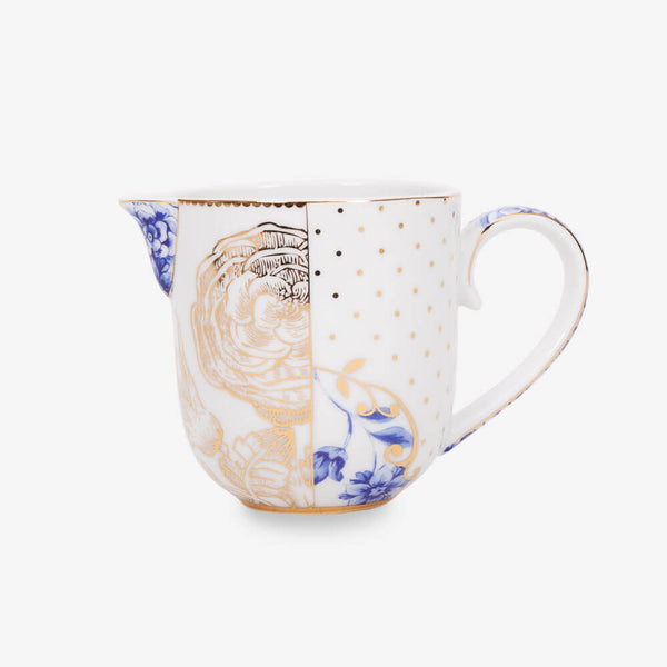 Pip Studio Royal White Collection Jug - Front of jug