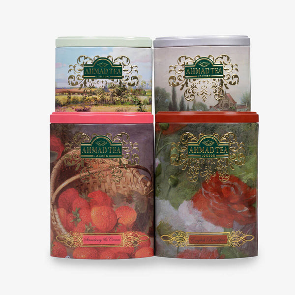 Fine Tea Collection Caddies Tea Bundle - 400g Loose Leaf