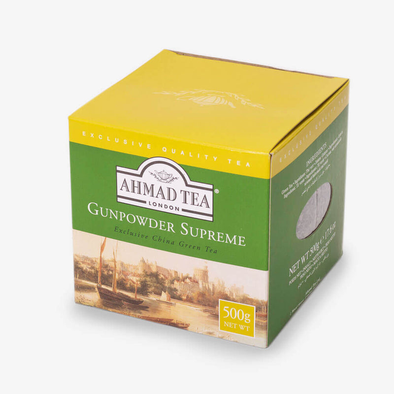 4 Packs of 500g Loose Tea Packet - Side angle of box