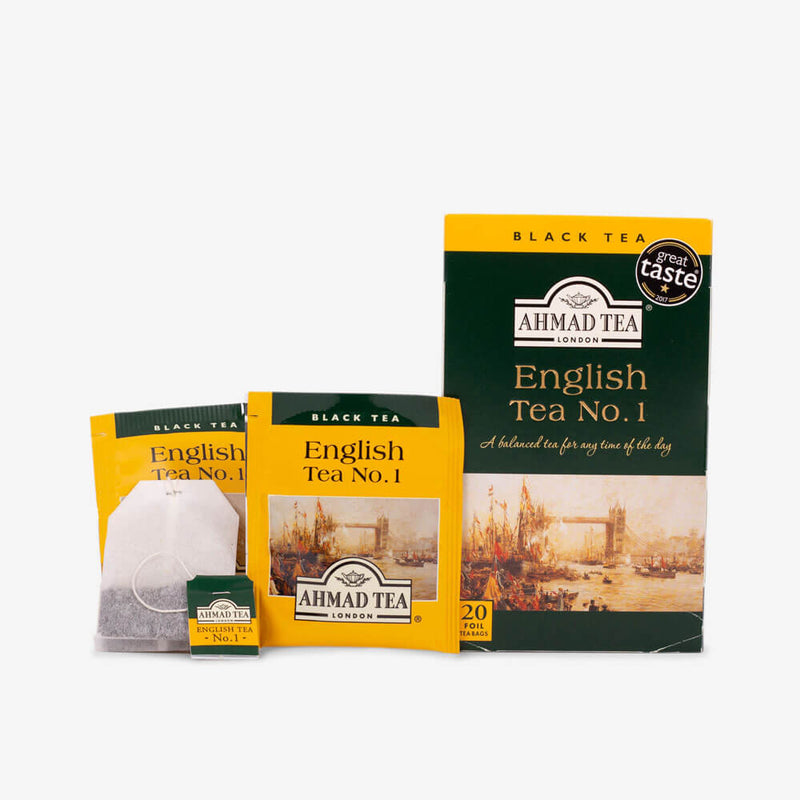 20 Teabags - Box, envelope and teabag