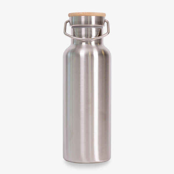 Sass & Belle Stainless Steel Water Bottle - Front of bottle