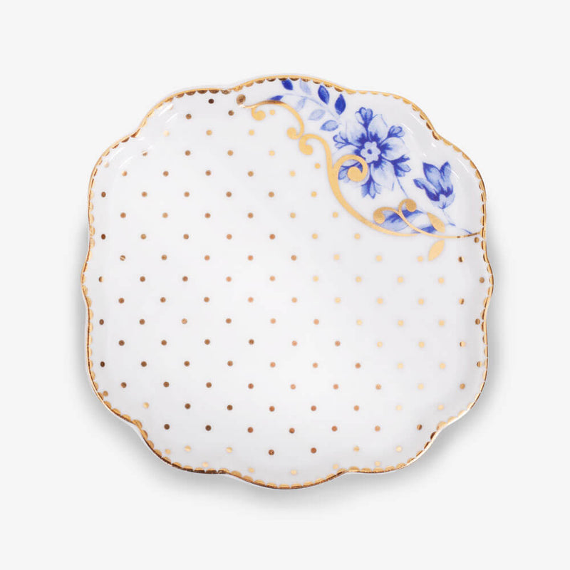 Pip Studio Royal White Collection Tea Tip - Tea tip upside down