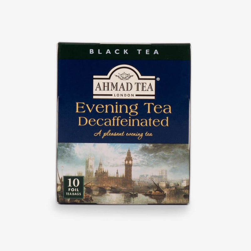 Classical Selection - Front of Evening Tea Decaffeinated box