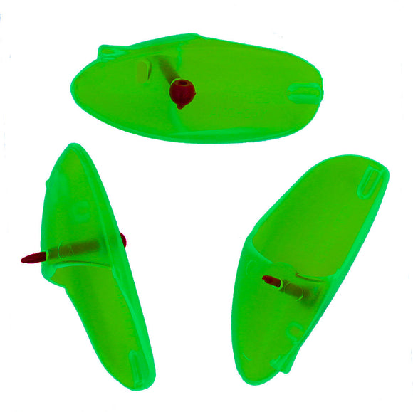 Krippled Anchovy Unrigged 3-pack, Green