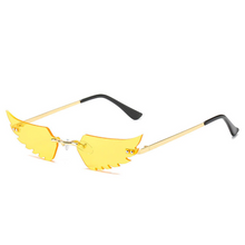 Load image into Gallery viewer, Angel Wings Rimless Shades