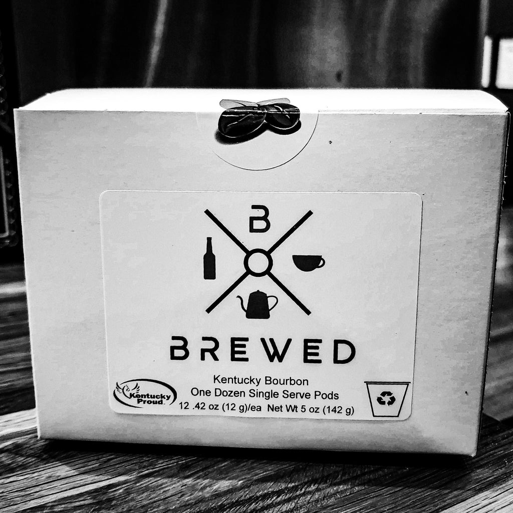 Brewed Kentucky Bourbon Kentucky Proud Coffee 12 K-Cups | Brewed