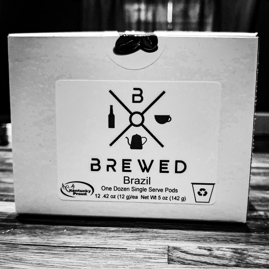 Brewed Brazil Kentucky Proud Coffee 12 K-Cups | Brewed