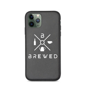 Brewed Logo Biodegradable phone case | Brewed