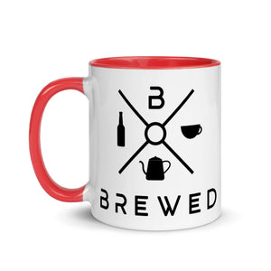 Brewed Logo Mug with Color Inside | Brewed
