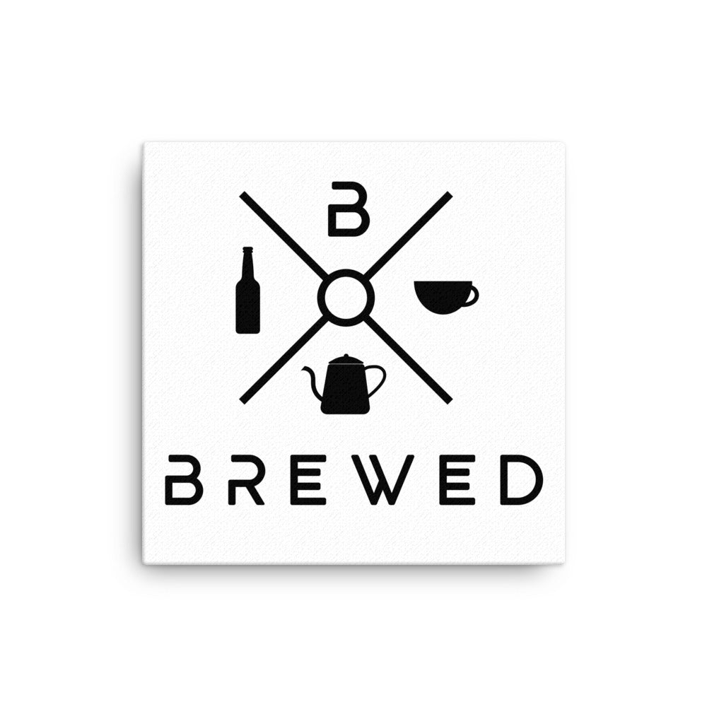 Brewed Logo Canvas | Brewed