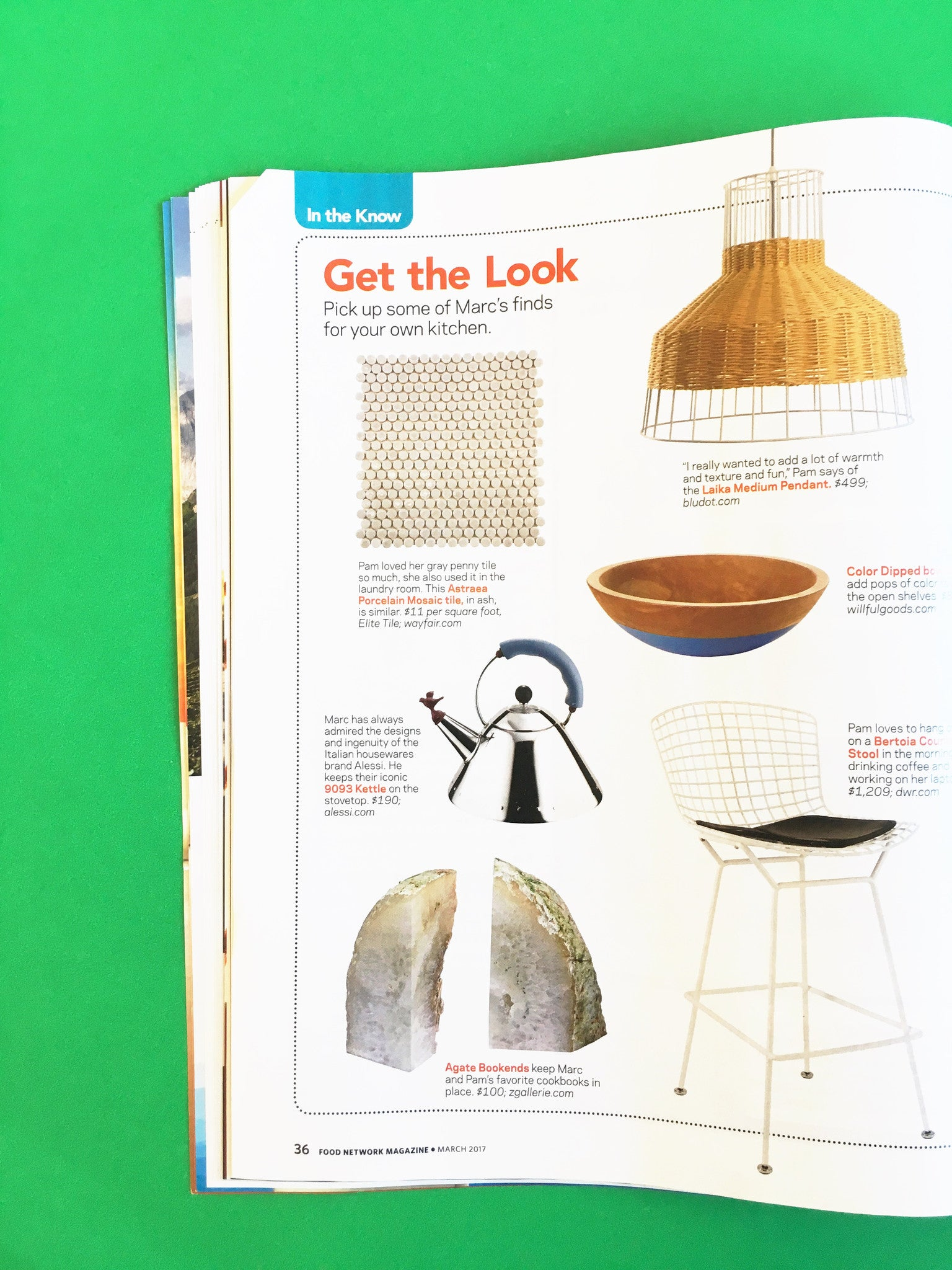 I Spy Willful Goods In... Food Network Magazine