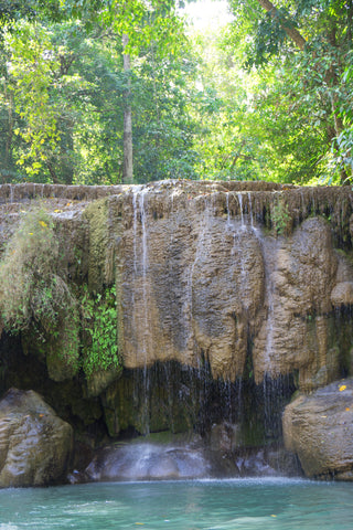 7 tier waterfall swimming hole thailand