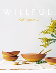 Willful Tabletop Lookbook FW16
