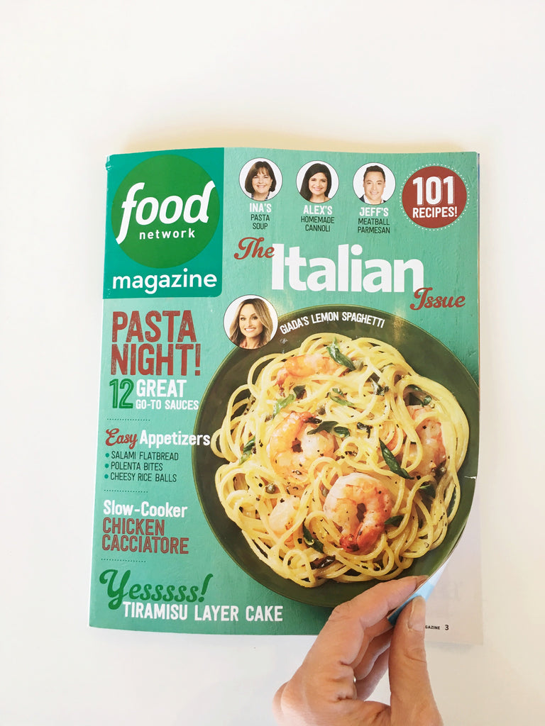 willful goods in food network magazine press