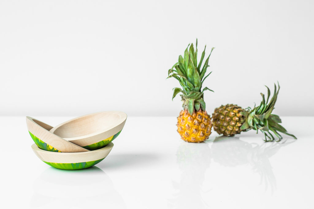 pineapple inspire mini bowls by willful 2016