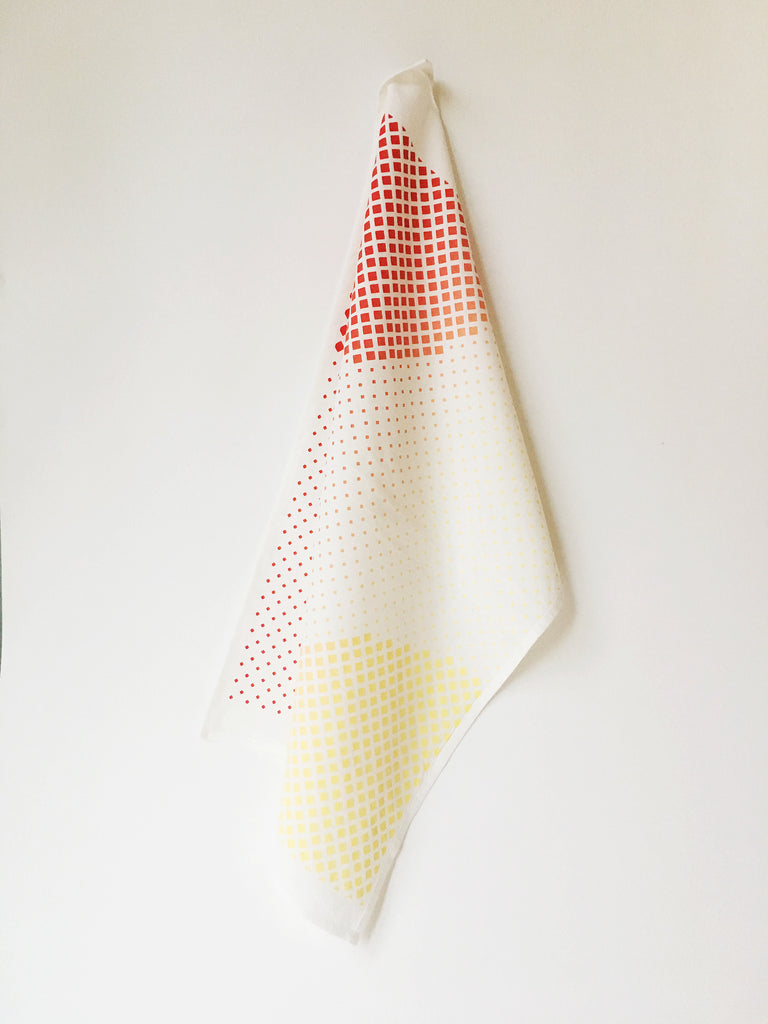 Sunset Flour Sack Tea Towel