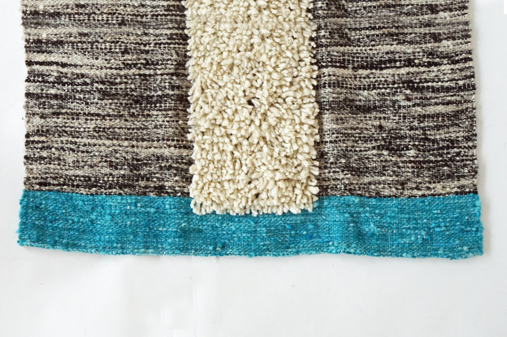 Melany Woven Wool Rug 2'x3' (5 color options)