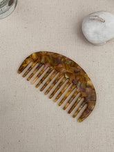 Load image into Gallery viewer, Scandinavian Marble Slab Wide Tooth Comb