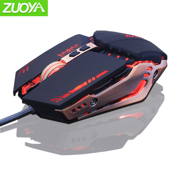USB Wired Gaming Mouse 7 Buttons Optical LED Computer Game Mice for PC Laptop Notebook Gamer