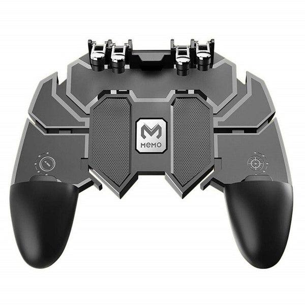 pubg Controller Turnover Button Gamepad for PUBG IOS Android Six 6 Finger Operating Gamepad Peripherals Mobile PUBG Controller
