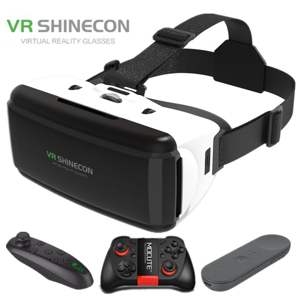VR Shinecon G06 helmet 3D virtual reality glasses for the iPhone Android Smartphone smartphone glasses Android